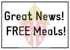 Great News! FREE Meals!